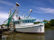 Louisiana räkafartyg arkivfoto