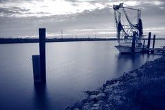 Louisiana räkafartyg Fotografering för Bildbyråer