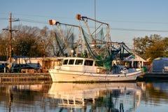 Louisiana räkafartyg Royaltyfri Foto
