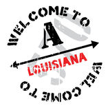 Louisiana rubber stamp Stock Images
