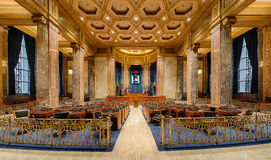 Louisiana Senate Chamber Royalty Free Stock Photos