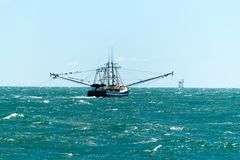 Louisiana Shrimp Boat Stock Image