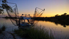 Louisiana Shrimp Boat Stock Photography
