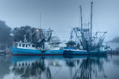 Louisiana Shrimp Boats Stock Photos