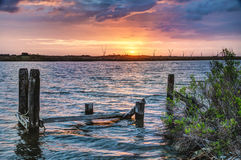 Louisiana-Sonnenaufgang Lizenzfreie Stockfotografie