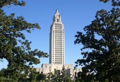 Louisiana State Capital Royalty Free Stock Photography