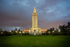 Louisiana State Capitol royalty free stock photo