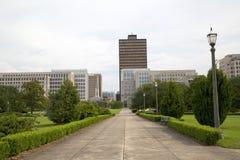 Louisiana state capitol buildings stock image