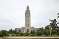 Louisiana state capitol. Nice Louisiana state capitol in Baton Rouge background royalty free stock photography