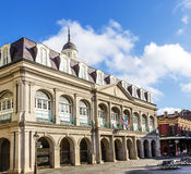 Louisiana state museum at Jackson Square, New Orleans stock photography