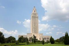 Louisiana statKapitolium Baton Rouge Fotografering för Bildbyråer