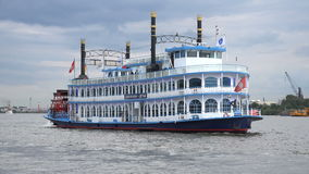 Louisiana-Stern Riverboat stock video footage