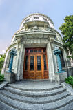 Louisiana Supreme Court Building Side Entrance Fisheye New Orlea Royalty Free Stock Images