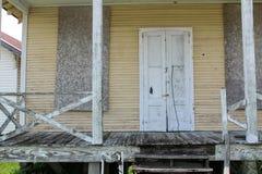 Louisiana verlie? Haus lizenzfreies stockbild