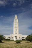 Louisisana Capital Huey Long Statue Stock Images