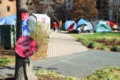 louisville занимает протест Стоковое Изображение RF