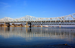 Louisville Bridge Stock Image
