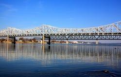 Louisville Bridge stock image