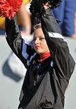 Louisville Cardinals cheerleader Stock Photo