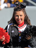 Louisville Cardinals cheerleader Stock Photos
