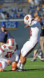 Louisville Cardinals kicker Chris Philpott Royalty Free Stock Photos