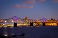 Louisville horisont Arkivfoto
