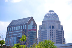 Louisville, Kentucky Buildings Royalty Free Stock Photo
