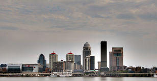 Louisville Kentucky Skyline Derby City KFC Yum Center Stock Image