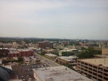 Louisville Kentucky. Top view of the hospital royalty free stock images