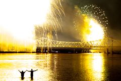 Thunder Over Louisville stock images