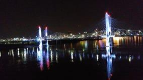 Louisville KY il fiume Ohio immagine stock