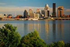 Louisville linia horyzontu zdjęcia stock