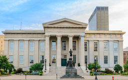Louisville Metro Hall Historic Entrance royalty free stock photos