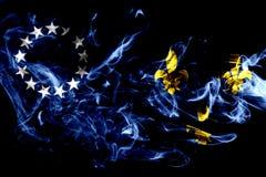 Louisville miasta dymu stara flaga, Kentucky stan, Stany Zjednoczone royalty ilustracja