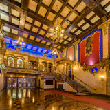 The Louisville Palace lobby royalty free stock images
