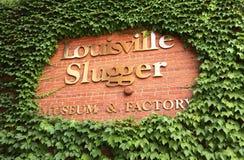 Louisville-Schläger-Museum stockbilder