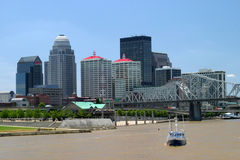 Louisville-Skyline Stockfoto