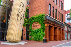 Louisville Slugger Museum & Factory stock images