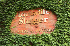 Louisville Slugger Museum stock images