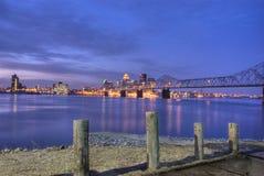 Louisville-Sonnenaufgang 1 Stockfoto