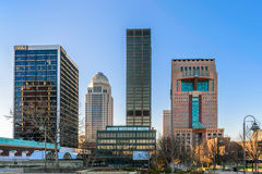 Louisville van de binnenstad KY Royalty-vrije Stock Fotografie