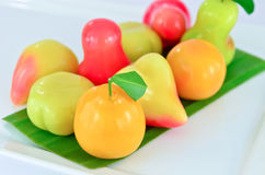 Loukchub Thai dessert Royalty Free Stock Images