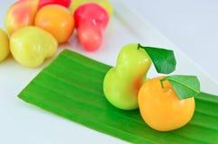 Loukchub Thai dessert Royalty Free Stock Photography