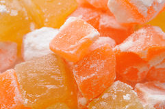 Loukoum background Royalty Free Stock Photo