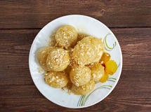 Loukoumades Stock Photo