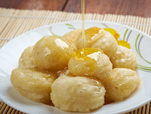 Loukoumades Royalty Free Stock Photography