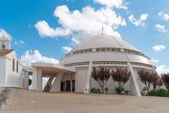 LOULE, ΠΟΡΤΟΓΑΛΊΑ - ΤΟ ΜΆΙΟ ΤΟΥ 2018 CIRCA: Η εκκλησία Santuario de αριθ. Στοκ φωτογραφία με δικαίωμα ελεύθερης χρήσης