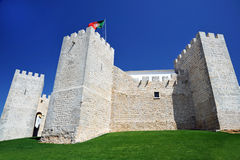Loule Castle, Portugal. Loule ancient castle, Algarve, Portugal royalty free stock image