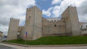 Medieval castle of Loule. LOULE, PORTUGAL - CIRCA MAY 2018: Medieval castle of Loule in Algarve, Portugal stock video footage