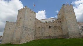 Medieval castle of Loule. LOULE, PORTUGAL - CIRCA MAY 2018: Medieval castle of Loule in Algarve, Portugal stock footage